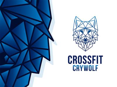 Geometric Wolf | CrossFit Crywolf Gym
