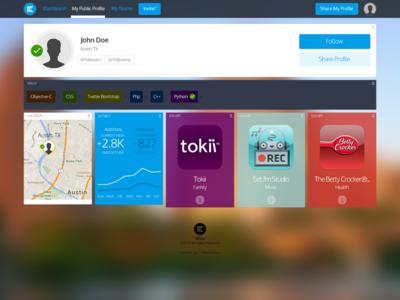 Fullsize — New User Profile