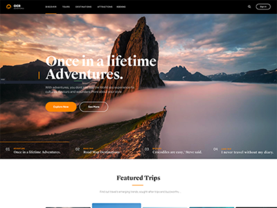 Travel Theme Blog travel theme noxedcms