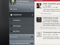 LMS iPad Navigation