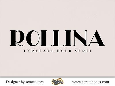 Rollina | Serif Font Creative vector elegant calligraphy branding wedding font scratchones free font download font logo illustration design scratchones.com romantic font hand-writing handwriting brush font script dafont handwritten