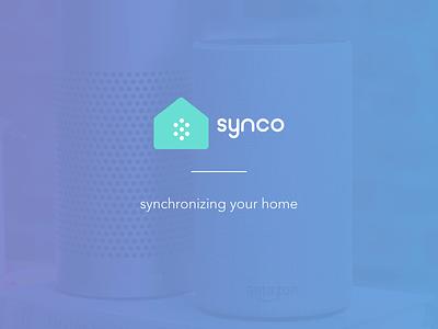 Synco simple marks logomark vui mark clean ios voice logo branding