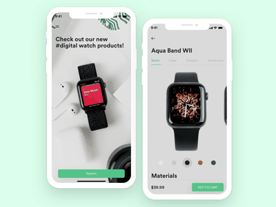 Access Tech Mobile Concept app ux design user interface sketchapp products mobile ui ecommerce design devices design clean application app design ios