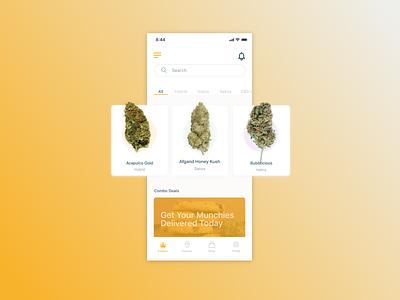 BudBundles  iOS Concept wdistudios userinterface uidesigner designer cannibus minimal app ux ui sketchapp mobile interface uidesign app design design ios