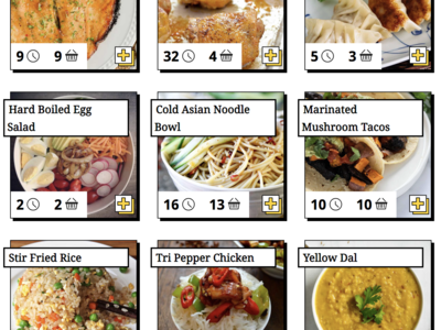 Meal Creation Cooking App