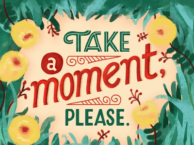 Just a reminder. quoteoftheday quote design handlettering editorial illustration