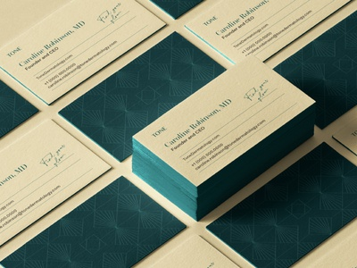 Tone Brand Identity: Business Cards chicago doctor stationery business card glow skin dermatology skincare logo c42d identity design identity design branding studio branding brand identity brandidentity branddesign