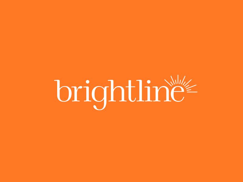 Brightline Brand Identity: Logo bright healthcare children behavioral health mental health awareness identity design branding studio brandidentity design branddesign logo identity c42d branding brand identity