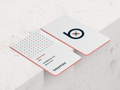 Baymax Research® Branding: Business Card