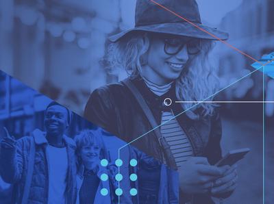 Cuebiq Brand Identity: Key Visual