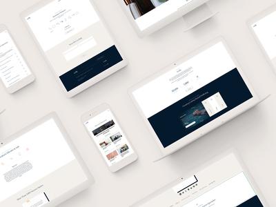 Actify Brand Identity: Website