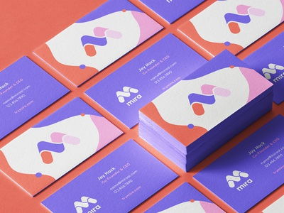 Mira Brand Identity: Business Card