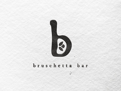 Bruschetta restauntrant logo