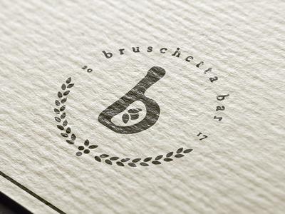 Bruschetta restaurant branding