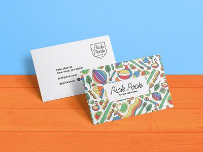 Pasta restaurant business card