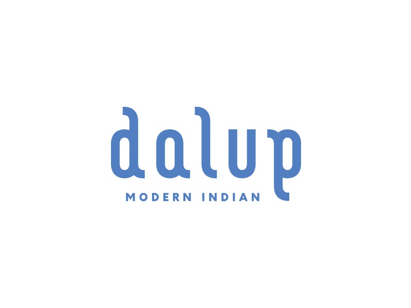Dalup Logo branding letters typography illustrator logo pitu