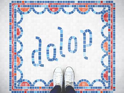 Dalup Logo fauxsaic