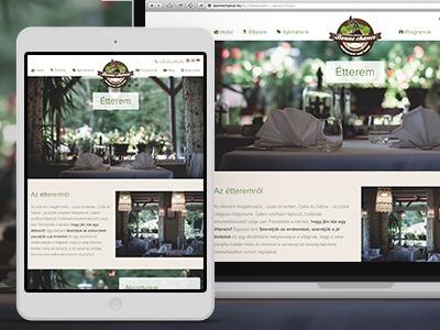 Bonne Chance Restaurant and Hotel Website hotel responsive restaurant website wordpress