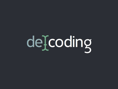Decoding Logo decoding logo brand