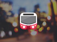 Hungarian Transit mobile app icons