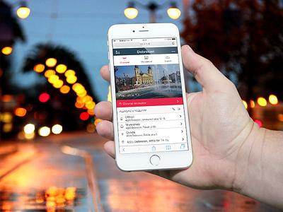 Transit Webapp webapp transit route mobile ios android windows phone