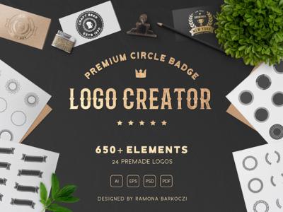Premium Circle Badge Creator