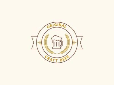 Original Craft Beer Logo