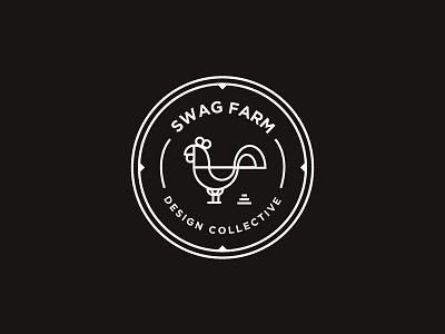 Swag Farm  hipster stroke illustration vector poop rooster farm swag