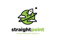 Straight Point Podcast Logo