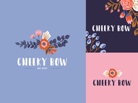 Cheeky Bow Branding