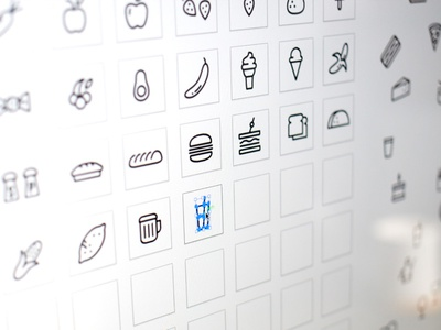 12 Icon Design Templates icon grid icon layout sidecar assets design icons layout grid template ios android icon
