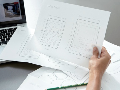 Printable Ui Prototypes strategy sidecar paper sketch prototype planning wire frame template android printable ux ui