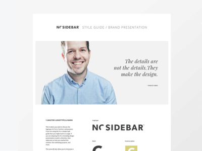 Vertical Style Guide Template style guide identity design brand guidelines sidecar templates presentation layouts identity lab focus branding assets