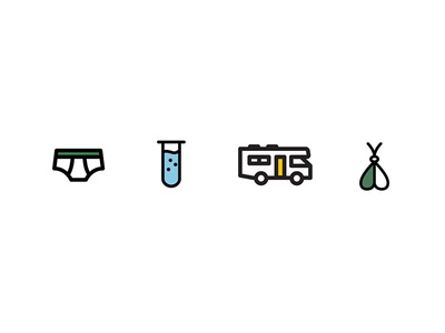 Say My Name. shows tv branding sidecar stroked icons line work iconography icon set icons