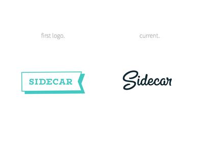 Throwback Tuesday madebysidecar sidecar boneyard custom logotype concept logo throwback