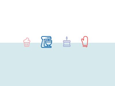 Suga.  icons iconography asset bundle icon baking bake