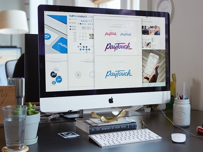 Logo Presentation Template deliverable product mockup presentation identity logo