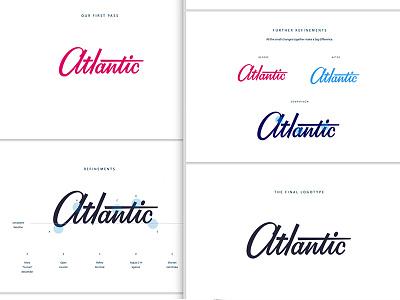 Logo Presentation typeface typography custom deliverable product mockup presentation identity logo