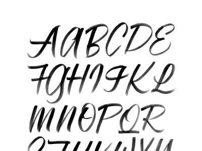 Beginners Guide to Brush Lettering letter forms typography asset blog madebysidecar sidecar brush lettering custom lettering
