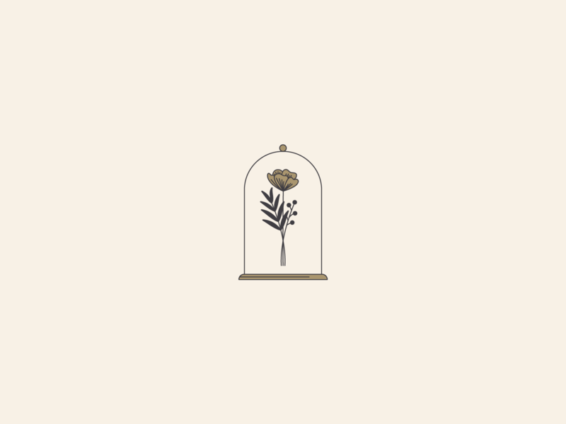 🌹 icon simple illustration flower flowers floral line illustration illustration