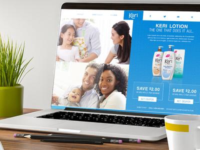 Keri site design