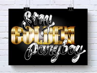 Stay Golden Ponyboy