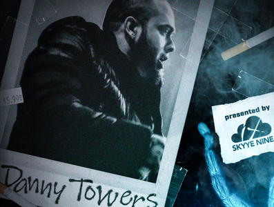 Danny Towers promotional advertisement photoshop image design fanart