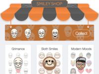 Halloween Smiley Shop