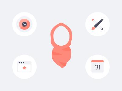 Design Illustrations hand shake resume company job portfolio web design camera presentation icon