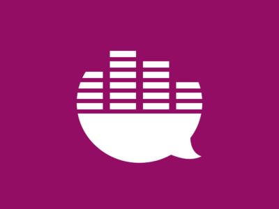 Jam community purple branding app illustration icon equalizer fans chat jam music