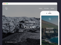 Travel Guide - Landing Page