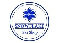 Snowflake Ski Shop Logo