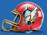 Thor Mascot Helmet
