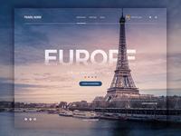 Web Design - Travel Page Concept